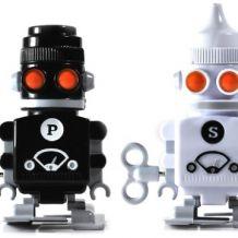 Salière / poivrière robots