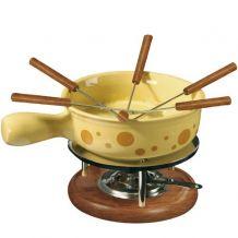 Plat à fondue au fromage