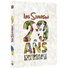 Coffret DVD des Simpsons saison 20!