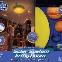 Système solaire en mobile
