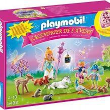 Calendrier de l'Avent Playmobil Fées avec licorne et animaux de la forêt