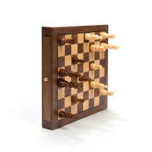 Jeu d'échecs en bois aimanté