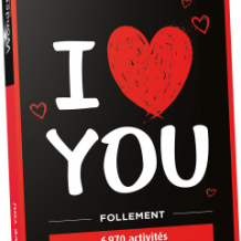 Coffret I love you Follement