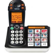 Téléphone sans fil pour séniors