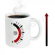 Tasse avec indicateur de température