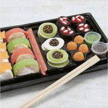 Plateau de sushis en bonbon