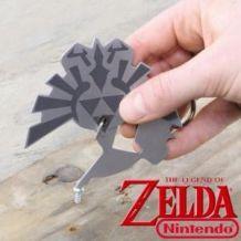 Porte-Clés Multifonction Zelda