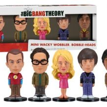Big Bang Theory: Set de 5 figurines