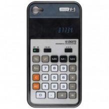Etui Iphone calculatrice vintage