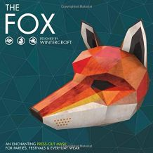 The Fox : Masque en papier de Wintercroft