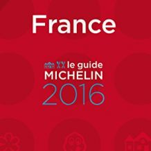 Guide Michelin France 2016