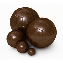 Ballon de football en chocolat