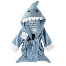 Peignoir pour bébé requin