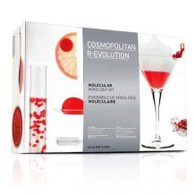 Cocktail cosmopolitain moléculaire