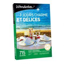 Coffret cadeau 3 jours charme & délices Wonderbox