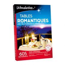 Tables romantiques –  Coffret Wonderbox
