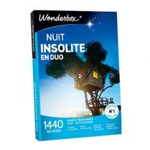 Coffret cadeau Nuit Insolite Wonderbox