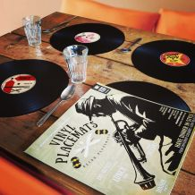 4 sets de table vinyle