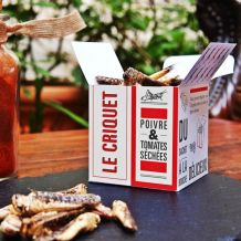 Insectes comestibles pour l'apéro