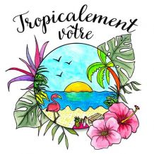 Pochette surprise tropicale