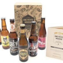 Boite mensuelle de bière – Abonnement Une petite Mousse