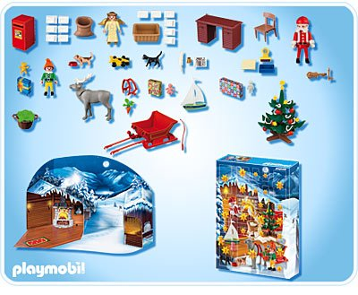 le calendrier de l 39 avent atelier du p re no l de playmobil id e cadeau france. Black Bedroom Furniture Sets. Home Design Ideas
