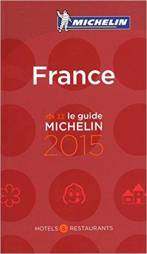 Guide Michelin France 2015