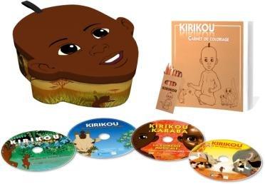 L'ntégrale de Kirikou (4 DVD)
