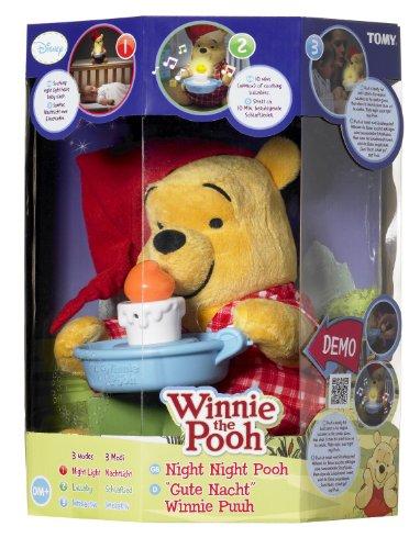 Peluche interactive «Bonne nuit Winnie»