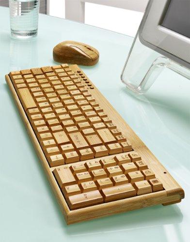 Clavier d'ordinateur en bois (oui oui!)