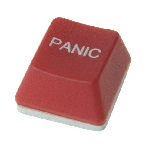 Touche de clavier «panic»