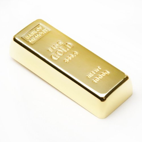 Clé USB 8Go lingot d'or