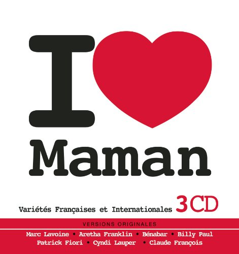 Coffret 3 CD « I love Maman »