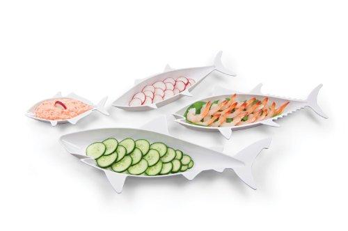 Set de petits plats poissons