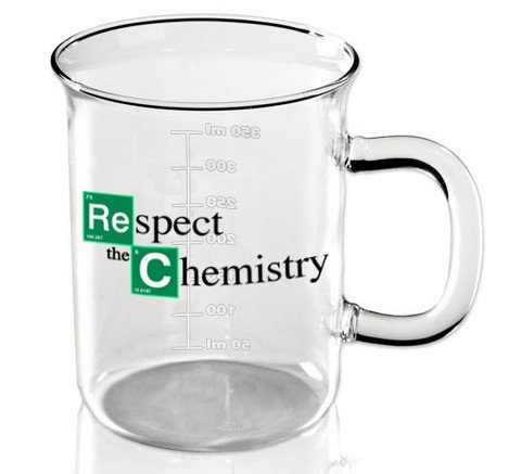 Mug bécher inspiré par Breaking Bad