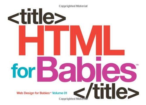 Le Livre: HTML pour les bébés