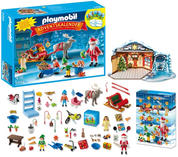 calendrier de l avent playmobil atelier de jouets avec p re no l et lutins id e cadeau france. Black Bedroom Furniture Sets. Home Design Ideas