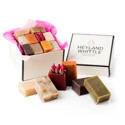 Coffret cadeau 10 savons naturels Heyland and Whittle