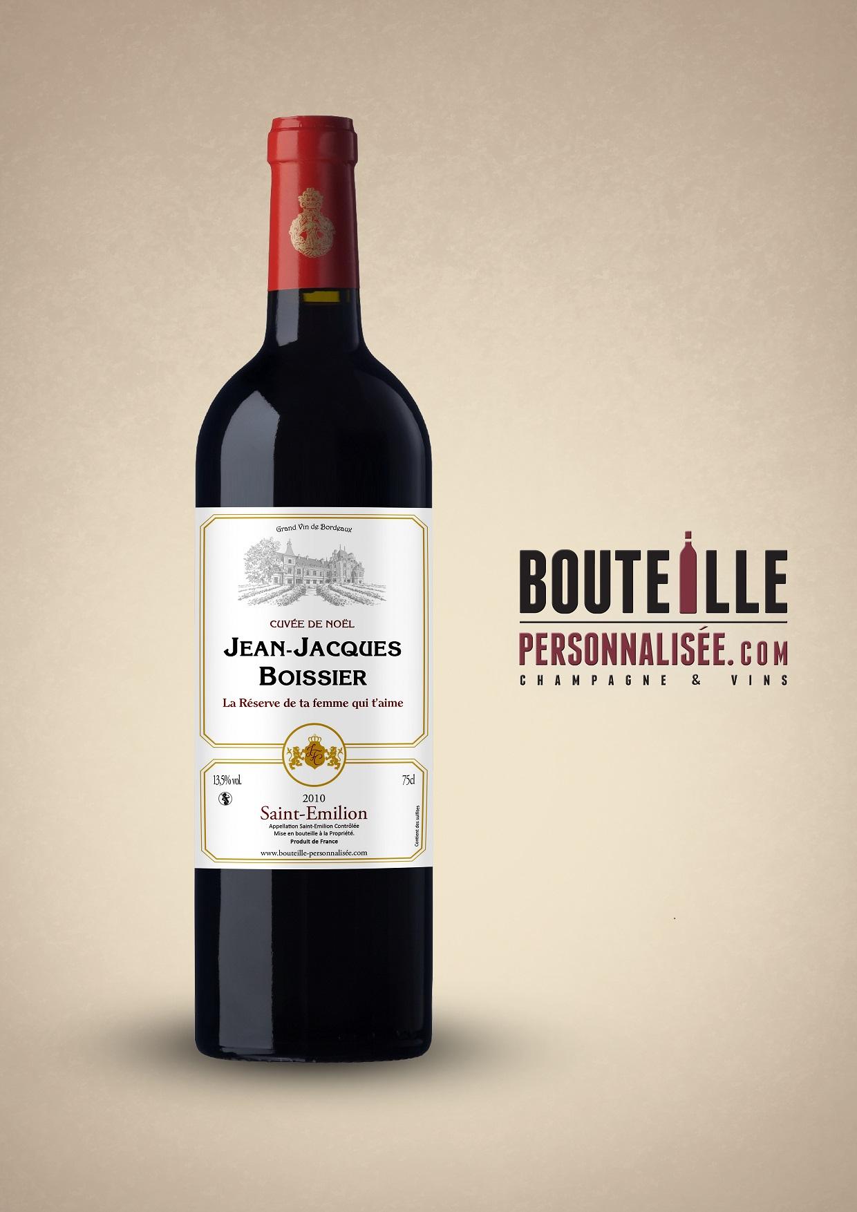personnalisez une d licieuse bouteille de vin ou champagne id e cadeau france. Black Bedroom Furniture Sets. Home Design Ideas