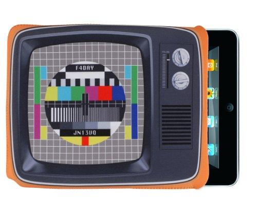 Etui pour Ipad motif télévision