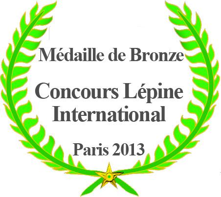 Concours Lépine International Médaille de Bronze