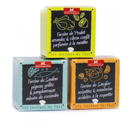 Lot de 3 Terrines du Chef – Ducs de Gascogne