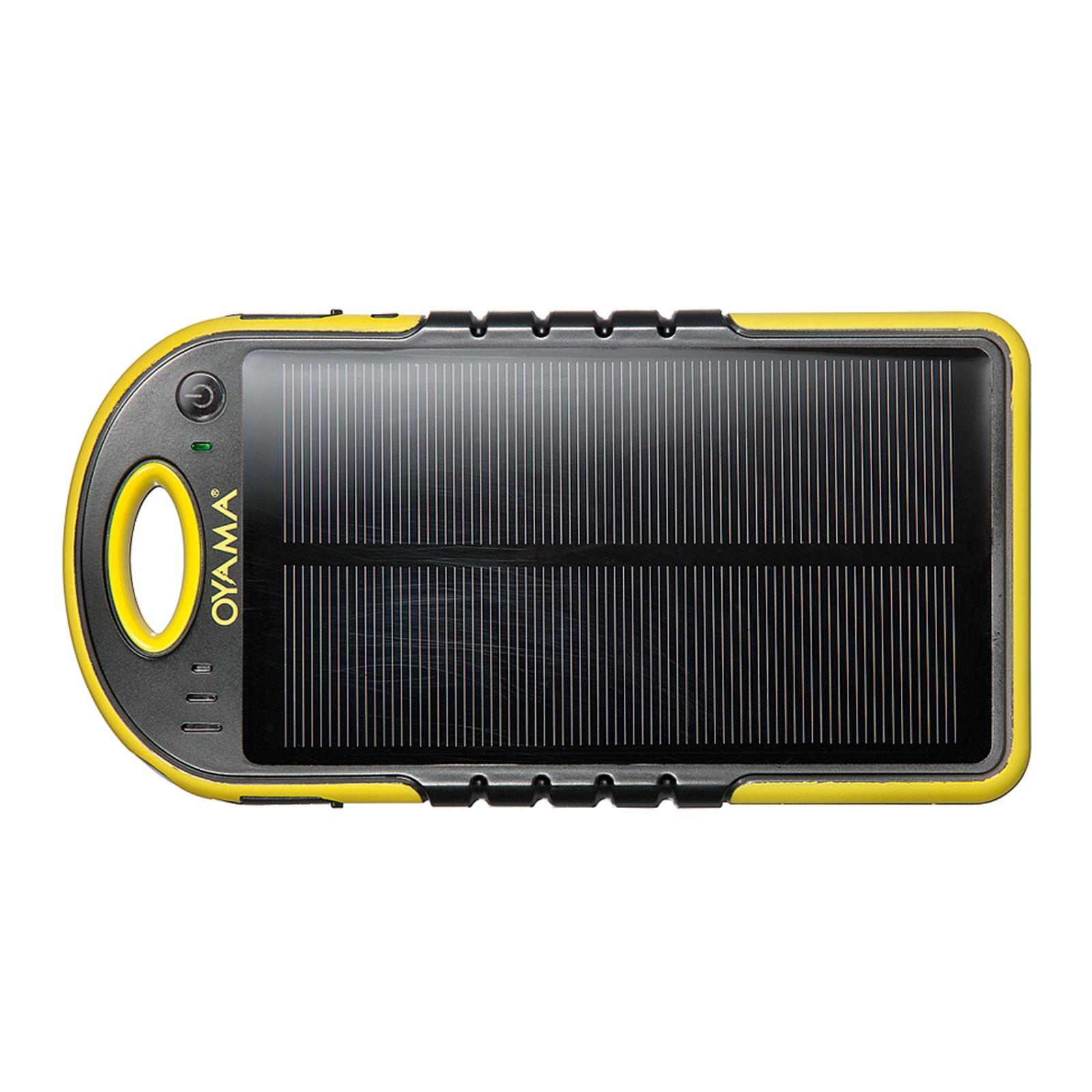 Chargeur solaire hybride avec batterie