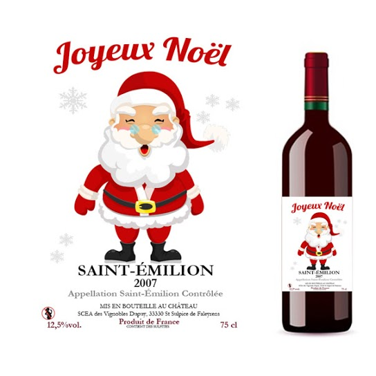 Vin personnalisé Saint-Emilion