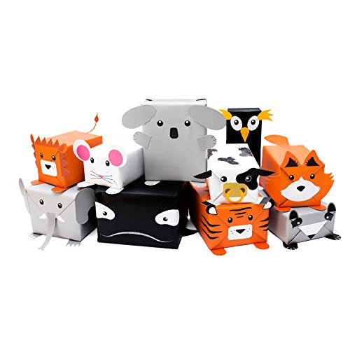 Papier cadeau animaux