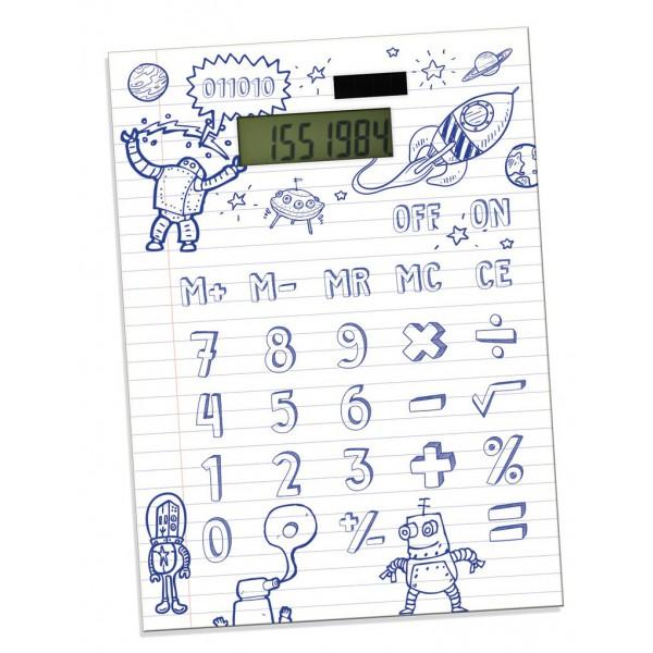 Calculatrice en papier DIY
