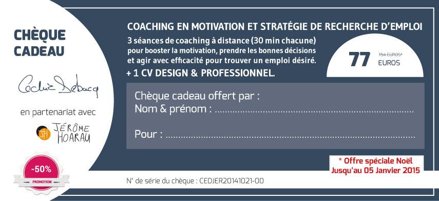Coaching en recherche emploi + CV design