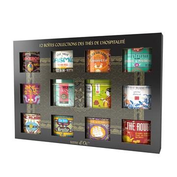 Collection 12 thés de l'hospitalité