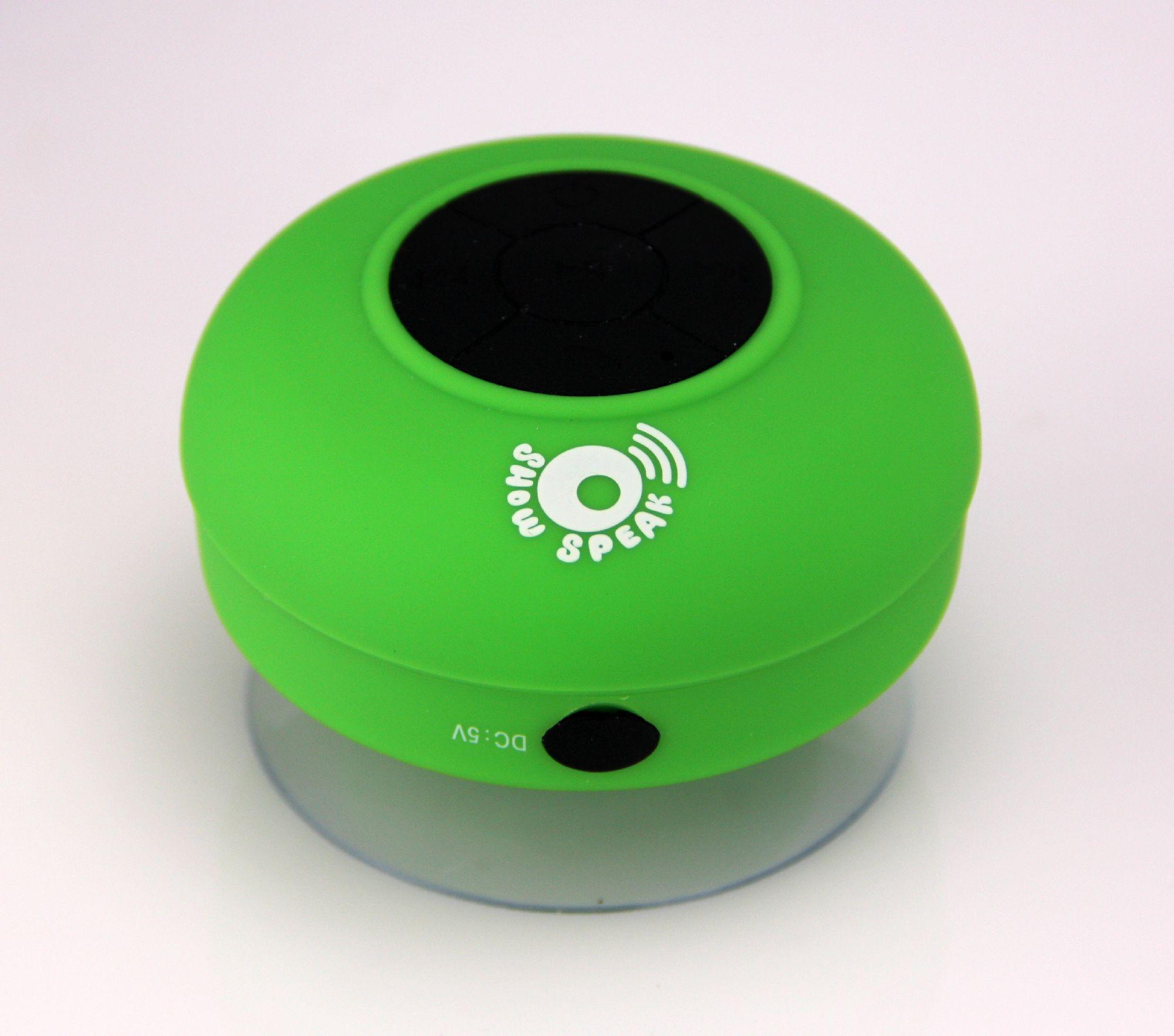 Enceinte Waterproof Bluetooth Show Speak (pad noir)