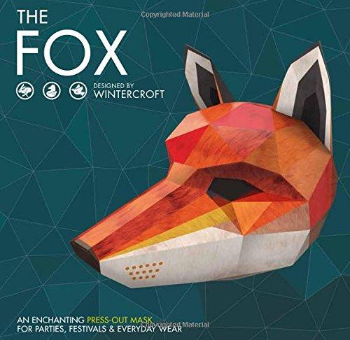 The Fox : Masque en papier de Wintercroft